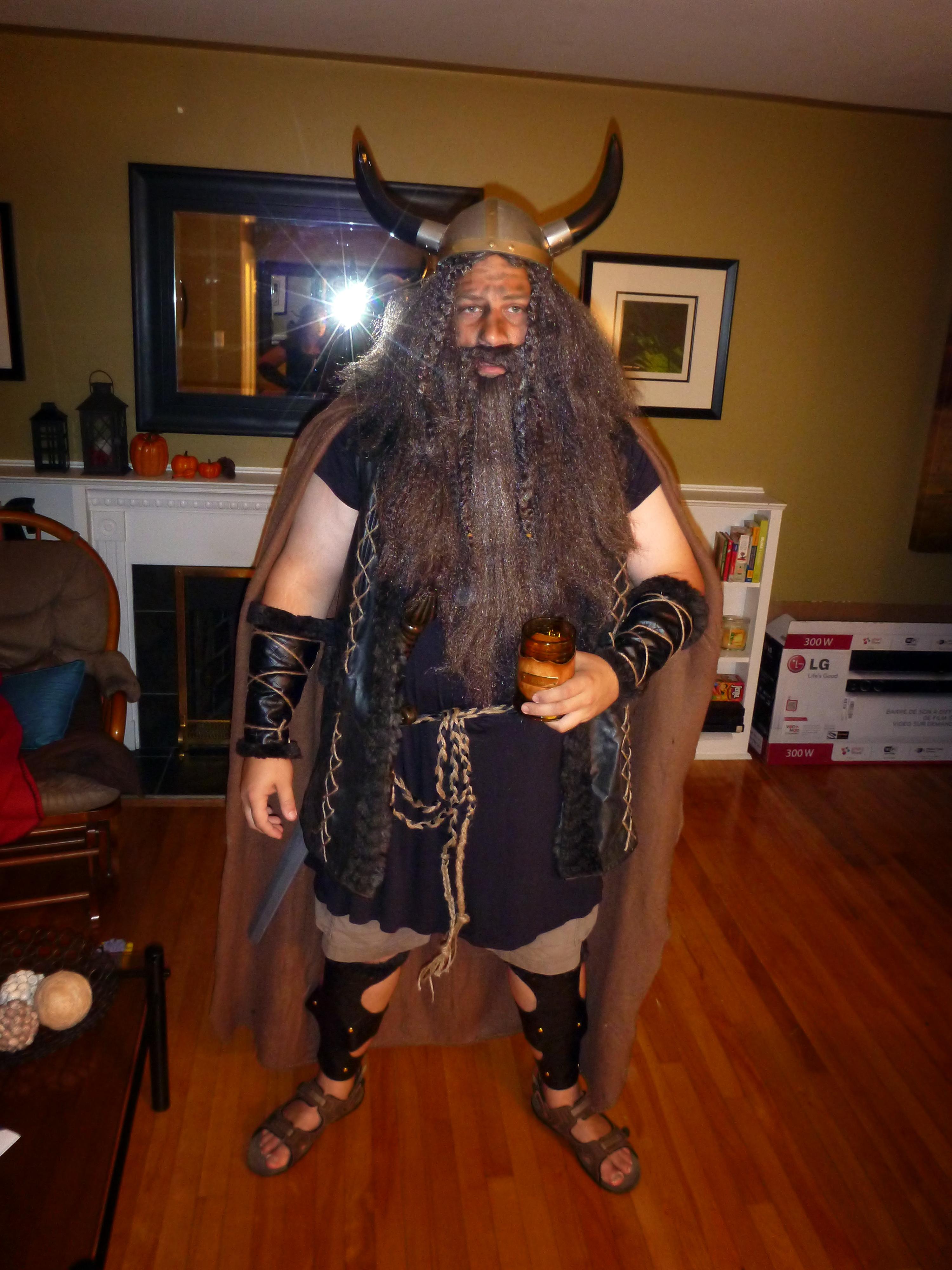 I Created 2 Viking Costumes from ONE Jacket!