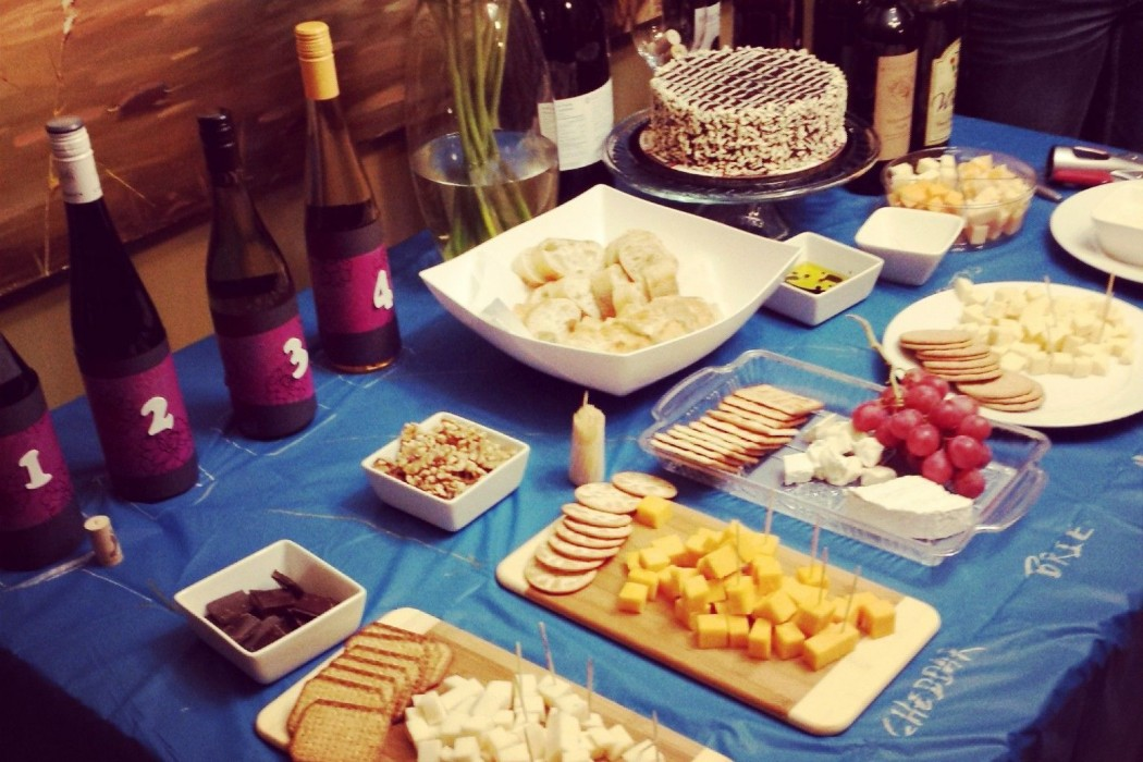 DIY: Wine & Cheese Birthday Party | BeMoreCreative